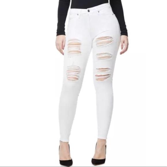 19bbfeb831f Good American Jeans | Good Legs Ripped High Rise | Poshmark